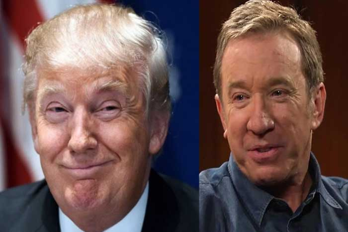 Image result for tim allen pro trump