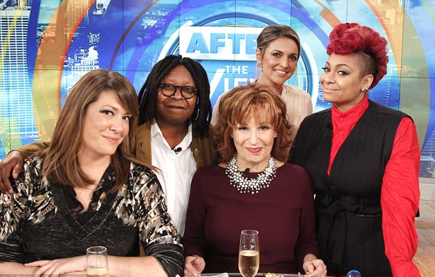 The View host fired