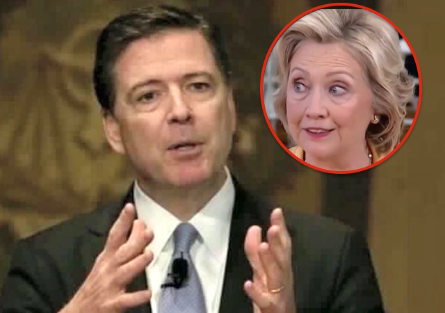 Image result for hillary comey scared
