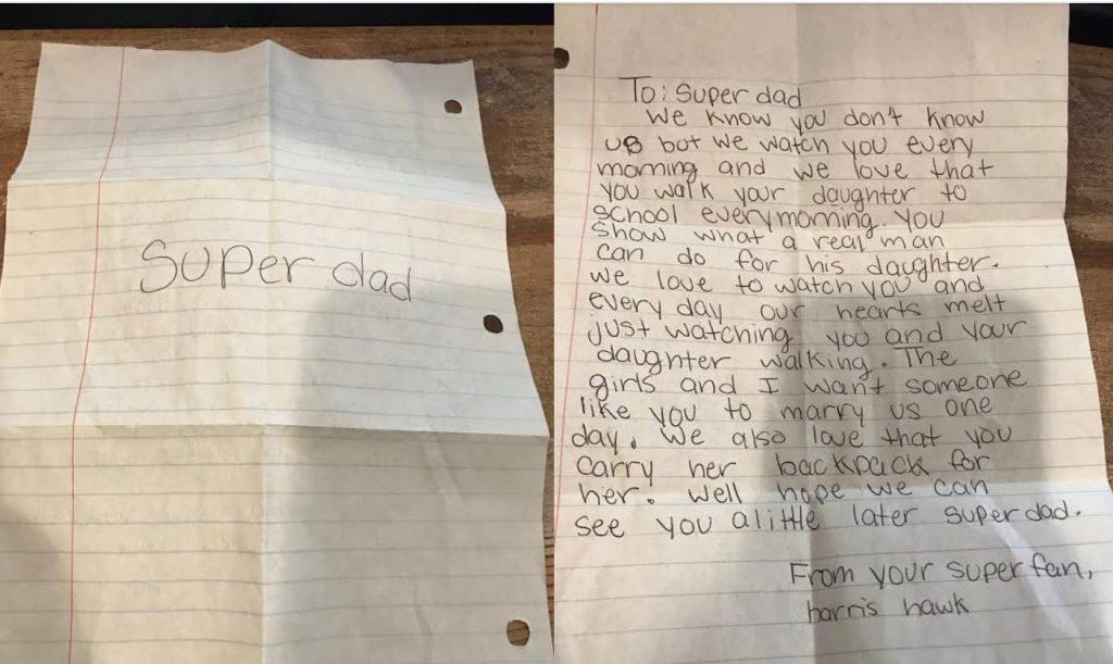 super dad letter