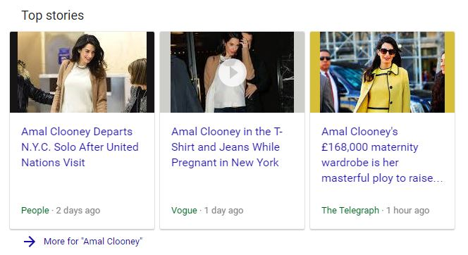 Amal Clooney ISIS