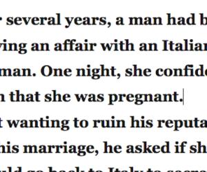 italian cheater joke